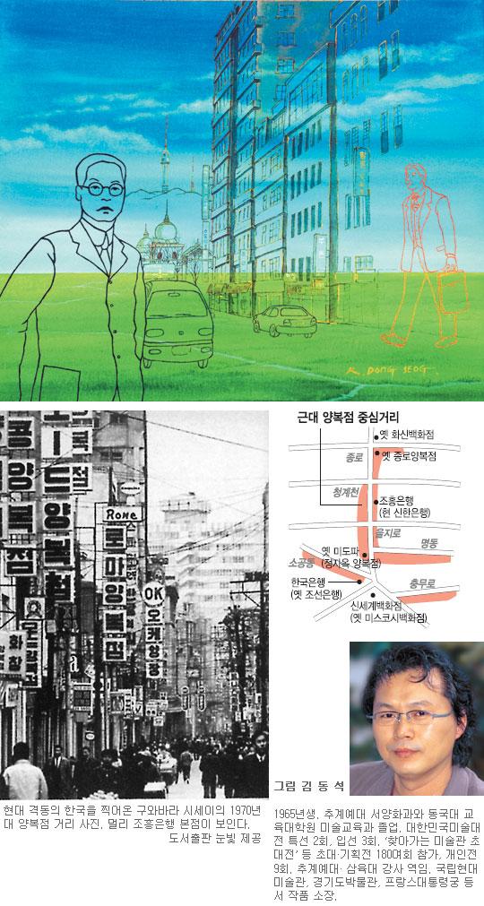 [공간+너머] 2부 南村,근대의 엘레지 ⑥ 개화파 개화복 기사의 사진