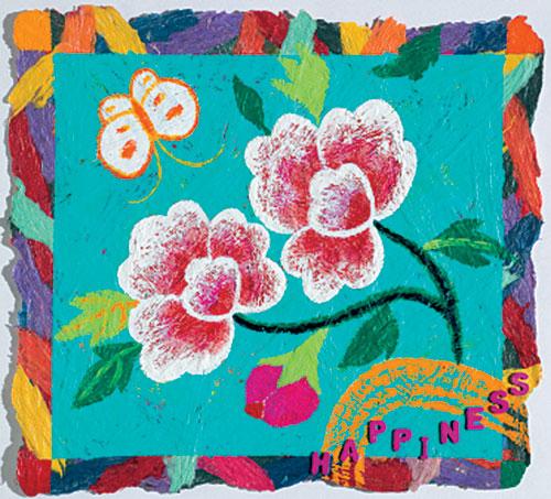 [그림이 있는 아침] 꽃과 나비의 찬가 기사의 사진