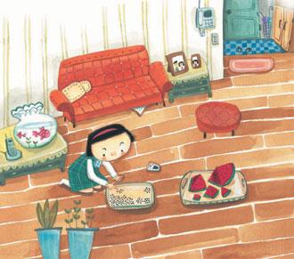[책과 길] 수박 한통엔 씨는 몇개일까?… '궁금해서 못 참아' 기사의 사진