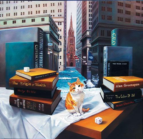 [그림이 있는 아침] Wall Street on the tables 기사의 사진