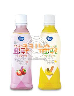 """[식품] """"여름철 몸매관리, 유산균 과일음료로 하세요"""" 기사의 사진"""
