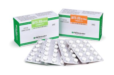 [신제품] 명문제약 당뇨병치료제 '글리나데정' 기사의 사진