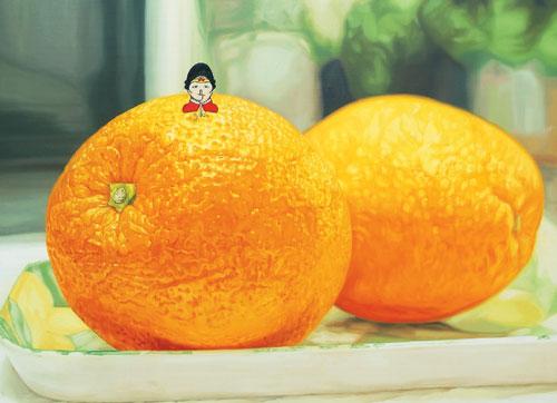 [그림이 있는 아침] 비타민을 섭취하다 기사의 사진