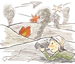[코엘료 행복 연금술] 종군기자 기사의 사진