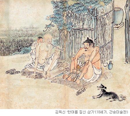 [오늘 본 옛 그림] (30) 한 집안의 가장이 되려면 기사의 사진