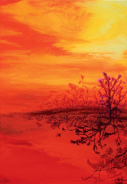 [그림이 있는 아침] 그림자-가을 기사의 사진