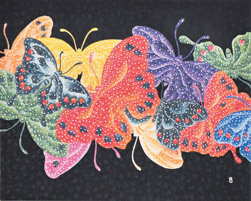 [그림이 있는 아침] 나비의 사랑 기사의 사진