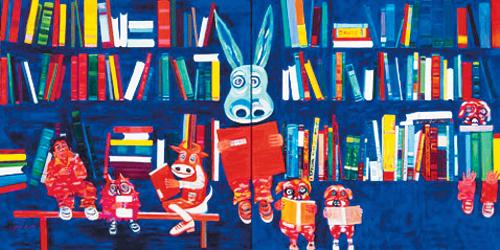 [그림이 있는 아침] 서가의 독서클럽 기사의 사진