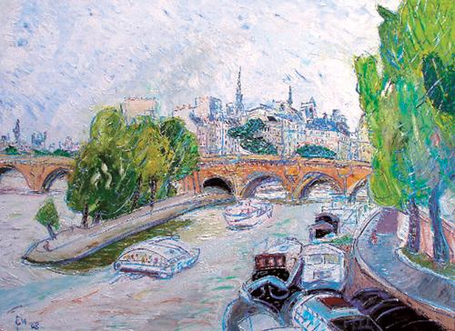 [그림이 있는 아침] 파리의 풍경 기사의 사진