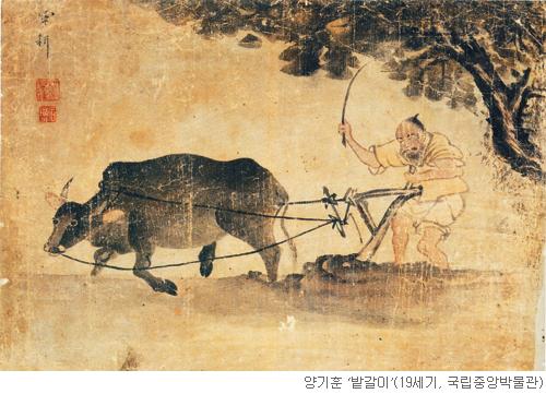 [오늘 본 옛 그림] (55) 다시 볼 수 없는 소 기사의 사진