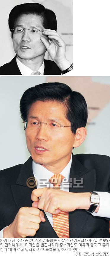 [인人터뷰-광역단체장에게 듣는다] 김문수 경기도지사 기사의 사진