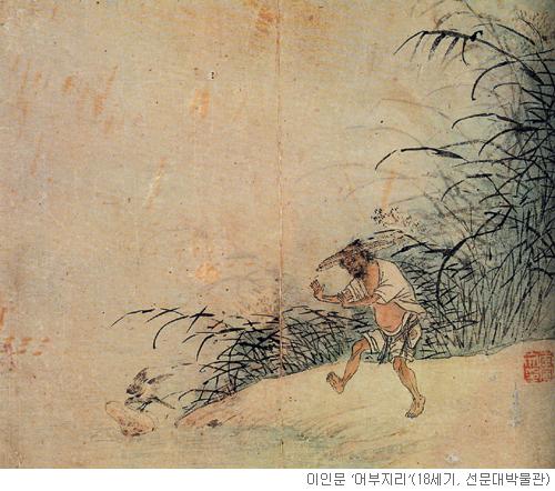 [오늘 본 옛 그림] (63) 한 치 앞을 못 보다 기사의 사진