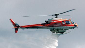 산림청 헬기 추락… 2명 생사 불명 기사의 사진