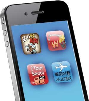 앱이 여행가이드… 여름휴가도 스마트시대 기사의 사진