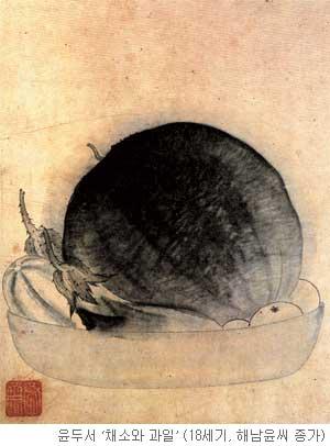 [오늘 본 옛 그림] (83) 참외 버리고 호박 먹으랴 기사의 사진