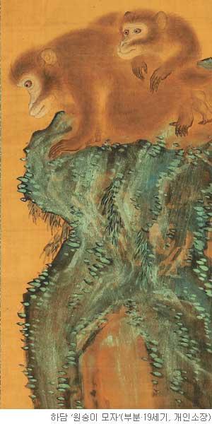[오늘 본 옛 그림] (86) 원숭이의 사랑과 보은 기사의 사진