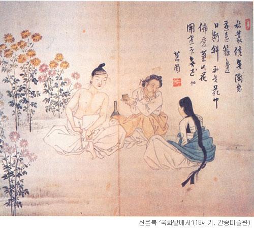 [오늘 본 옛 그림] (96) 꽃이 부끄러운 뒷거래 기사의 사진