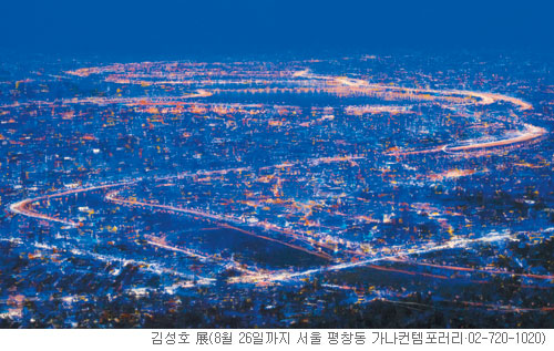 [그림이 있는 아침] 새벽 한강 기사의 사진