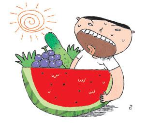 [이기수 기자의 건강쪽지] 더위 극복엔 영양만점 제철 果菜 기사의 사진
