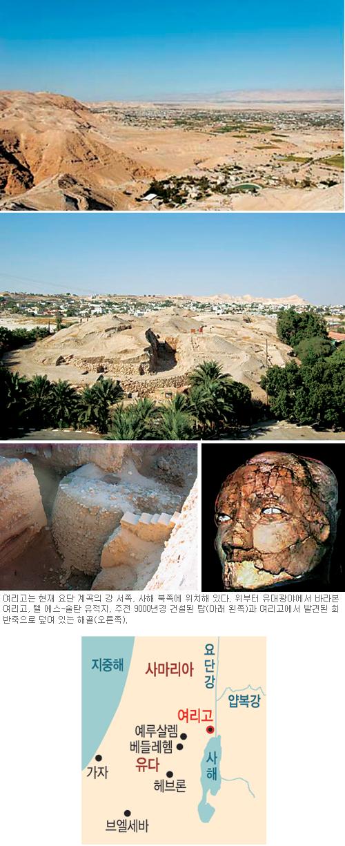 [고고학으로 읽는 성서-(2) 예루살렘을 향하여] 여리고 ① 기사의 사진