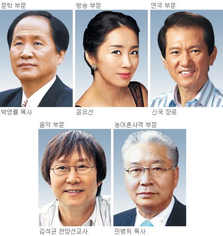 제7회 한국기독교문화예술대상 수상자 발표… 주님의 영광 위해 헌신한 5개 부문 얼굴들 기사의 사진