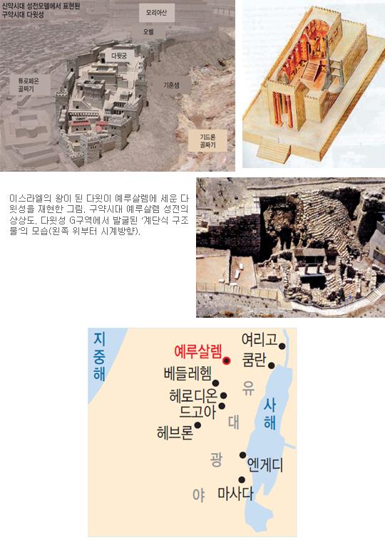[고고학으로 읽는 성서-(2) 예루살렘을 향하여] 예루살렘 ② 기사의 사진