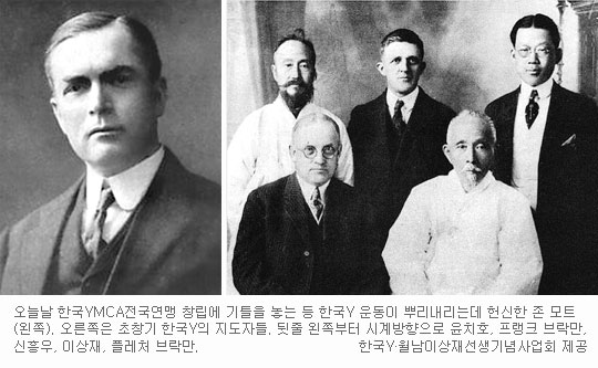 [YMCA, 새로운 100년의 약속] (11) 한국 YMCA를 만든 선교사들 (下) 기사의 사진