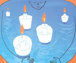 [글 속의 샘] 촛불 모아 밝힌 등대 기사의 사진