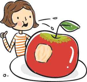 [이기수 기자의 건강쪽지] 농약 걱정 말고 사과는 껍질째 드세요 기사의 사진