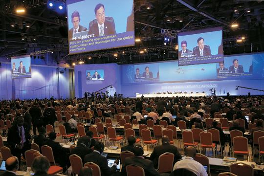 [부산 ITU 전권회의 개막] ICT 올림픽… 인터넷 공공정책·사이버 보안 집중 논의 기사의 사진