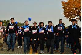 장애인과 함께 걷기…16일 제3회 '투게더 위 워크' 개최 기사의 사진