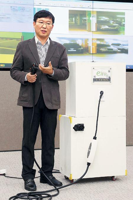 전기車도 휴대전화처럼… 모바일 충전 서비스 기사의 사진