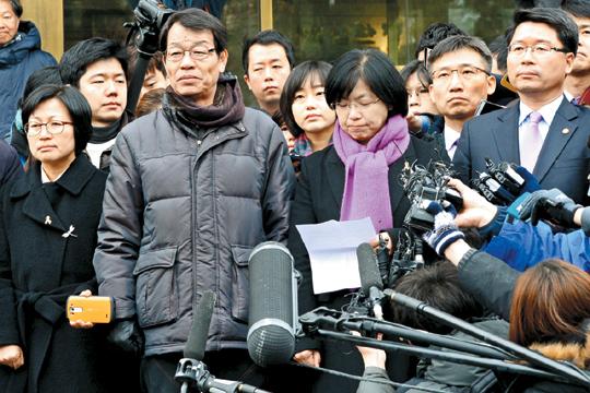[국내 10대 뉴스] (2) 헌재 '8대1' 통합진보당 헌정사상 첫 정당 해산 기사의 사진