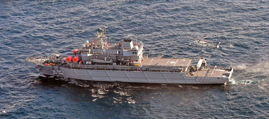 '눈·귀' 없는 통영함 해군 인도됐다 기사의 사진