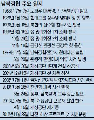 [한·일 국교정상화 50년] 남북 經協, 정치 논리에 휘둘려 명맥만 유지 기사의 사진