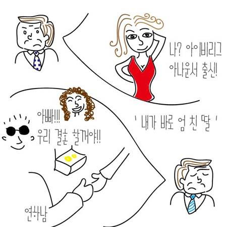 [이명희의 맛있는 e담화] 10. '엄친딸' 두고 속끓이는 장관님들 기사의 사진