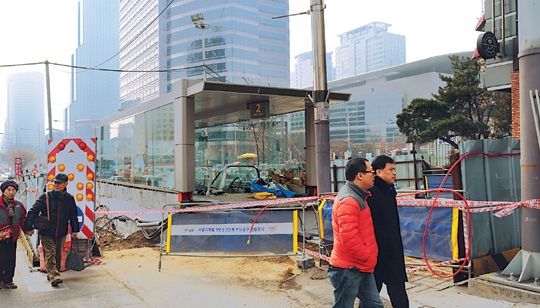지하철 9호선 '봉은사역' 명명에 불교계 조직적 개입 기사의 사진
