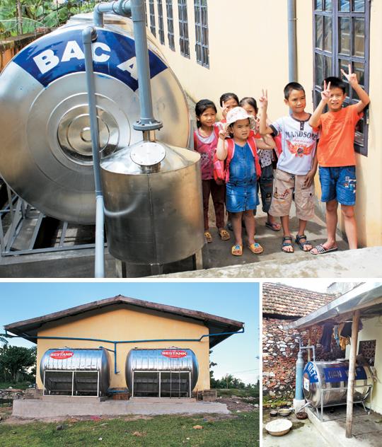 ['물 부족' 대안을 찾아서] 아이가 먹는 물 깨끗해지자 '마음의 문' 열었다 기사의 사진