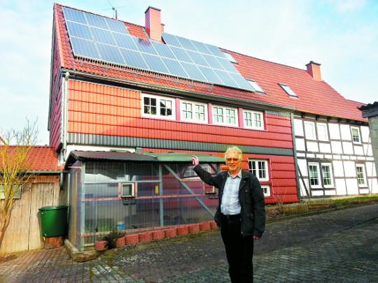 [原電 우리에게 무엇인가] 태양광·빗물 통 '에너지 절약' 몸에 뱄다…'에너지2000' 샤웁 대표의 하루 기사의 사진