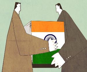 [창-천지우] 루슈디와 모디의 인도 기사의 사진