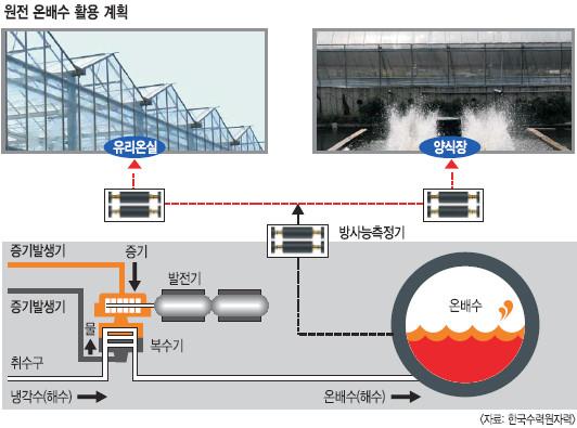[原電 우리에게 무엇인가] 온배수 활용 땐 지역경제 부축 '선순환 시스템' 기사의 사진