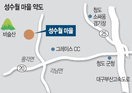 [살기 좋은 명품마을을 가다] (12) 경북 청도군 풍각면 성수월 마을 기사의 사진