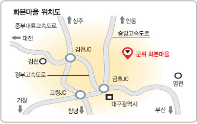 [살기 좋은 명품마을을 가다] (13) 경북 군위군 산성면 화본마을 기사의 사진