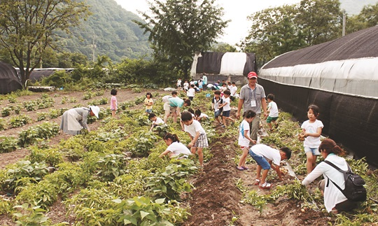 [살기 좋은 명품마을을 가다] (14) 전북 완주군 구이면 안덕마을 기사의 사진