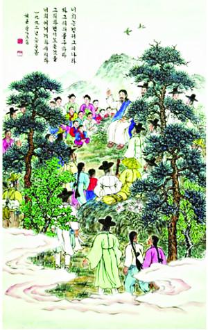 미술로 생명의 말씀 전한 200여명 작품 한자리에… 한국기독교미술 50년展 기사의 사진