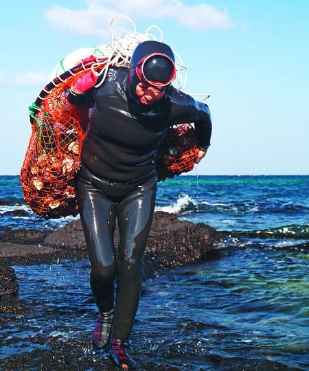 [톡톡! 한국의 문화유산] 강인한  바다  어멍,  제주해녀 기사의 사진