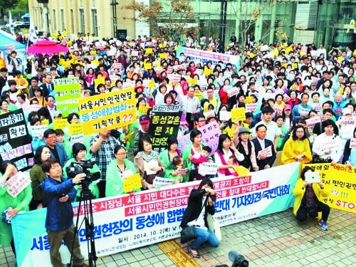 """[역경의 열매] 이용희 (33·끝)  """"세계적 동성애 물결 한국이 방파제 역할 하길…"""" 기사의 사진"""