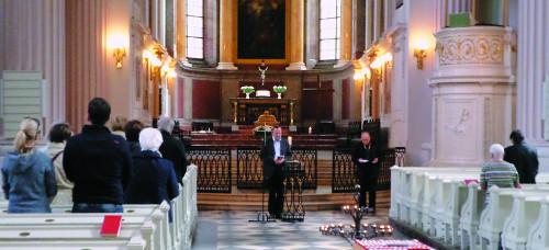 """[분단 70년을 넘어 평화통일을 향해-(4부)] """"분단 극복을…"""" 독일교회, 한반도 통일 위해 기도하고 있다 기사의 사진"""