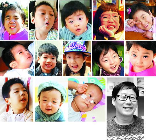 [얼굴] 그들 '가족'에게는 스무가지 미소와 행복이 있다… 기사의 사진