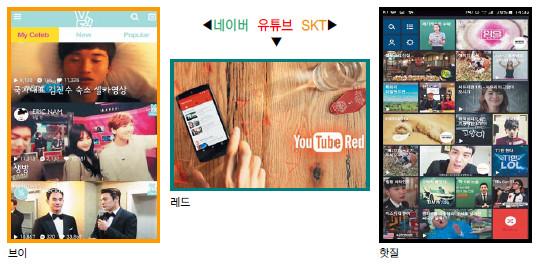 [기획] 동영상 플랫폼 강자들 콘텐츠 경쟁 기사의 사진